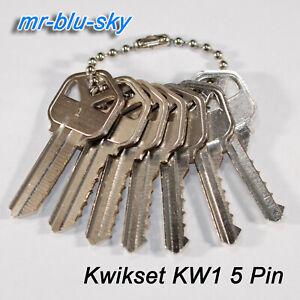 Kwikset KW1 Space and Depth Keys USA