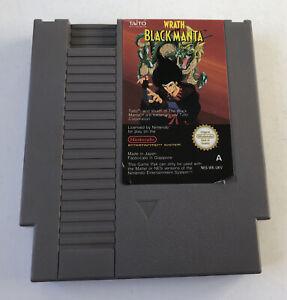 Wrath of the Black Manta Nintendo Entertainment System NES Loose Cartridge PAL A