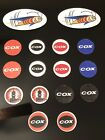 16x Assorted Cox 049 Stickers