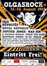 OLGASROCK - 2011 - Konzertplakat - Jupiter Jones - Mad Sin - Kraftklub