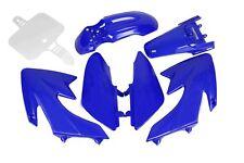 HMParts Dirt Bike Pit Bike Verkleidung SET 110 ccm Blau Typ 1