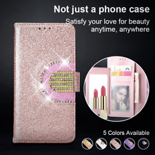 Luxury Leather Glitter Wallet Magnetic Flip Phone Case Cover For iPhone 11 7 8 X