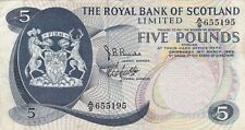 P330 Royal BANK OF SCOTLAND Cinque sterline banconote in buone condizioni in perfetta condizione