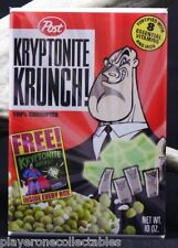 "Kryptonite Krunch Cereal Box 2"" X 3"" Fridge Magnet. Lex Luthor Superman"