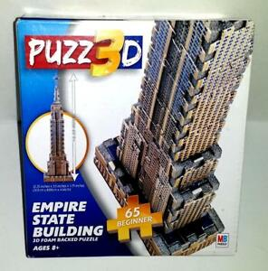 MILTON BRADLEY PUZZ 3D EMPIRE STATE BUILDING - NEW