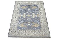 "9X12 Gray Oushak Hand-Knotted Wool Area Rug Oriental Carpet (9'2"" x 11'8"")"