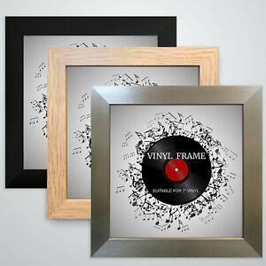 "721 Frame 7"" Vinyl Single Music Record Square Memorabilia Wall Display Colors"