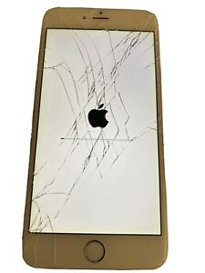 Apple iPhone 6 Plus 64GB Silver (Unlocked) A1524 (AU Stock) Cracked Screen