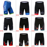 Men's Summer Cycling Shorts Breathable Gel Pad Quick Dry Riding Bike Short Pants