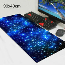 More details for extra large xl galaxy gaming mouse pad mat for pc laptop anti-slip 90cm*40cm