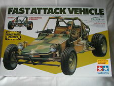 1/10 Tamiya 58496 - Rare Fast Attack Vehicle FAV Sand Dune Off Road Buggy - NIB