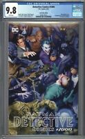 Detective Comics #1000 CGC 9.8 Mike Mayhew TRADE Variant Cover