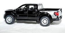 2013 13 Built Ford Tough F 150 Raptor SVT Pickup Truck Die cast Action Toy Black