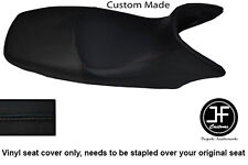 BLACK VINYL CUSTOM FITS HONDA XL 125 01-12 VARADERO SEAT COVER ONLY