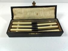 Sheffield Antique Silver-Plated Cutlery Boxes