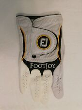 FOOTJOY CABRETTA MEN'S RIGHT HAND WHITE LEATHER GOLF GLOVE UNLINED SIZE SMALL
