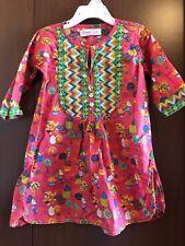 Khaadi Kids 4-5 Yr Old Pink Cotton Kurta Kameez Kurti Top