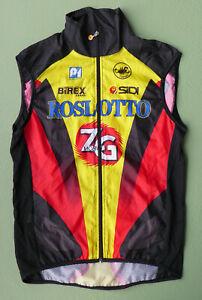 rare orig. 1996 team ROSLOTTO ZG-MOBILI RUSSIA wind vest CASTELLI TOUR DE FRANCE