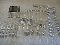 MILBURN ROSE BY WESTMORLAND STERLING SILVER FLATWARE SET  78 PIECES