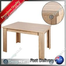 Erica 4 Four Seater Contemporary Rectangular Wooden Dining Table