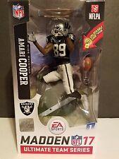 Amari Cooper : Oakland Raiders 2016 Madden NFL 17 Ultimate Team Mcfarlane figure