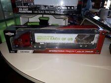 International ProStar Tractor-Trailer Semi Briggs And Stratton First Gear 1/64
