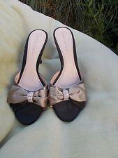 Stiletto Satin Slides Sandals for Women