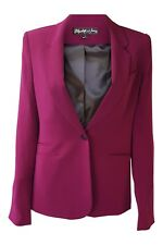 *ELIZABETH & JAMES* WOMEN'S MAGENTA  PINK FITTED JACKET (6)