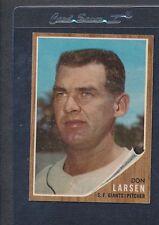 1962 Topps #033 Don Larsen Giants EX *1485