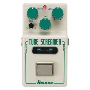 Ibanez Nu Tubescreamer Nutube Overdrive OD Pedal Made in Japan Tube Screamer