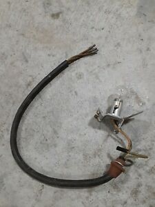 1950 Studebaker Commander Tail Light Lens Cable And Bulb Assembly