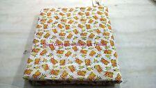 5 Yard Indian Handmade Cotton Fabric Hand Block New Print Sanganeri Garment SG01
