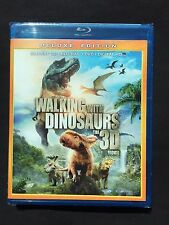 Walking With Dinosaurs 3D Blu-ray + Blu-ray + DVD  Brand New Free Ship