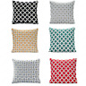 "BERKELEY Geometric Thick Chenille Modern Cushion Cover 18"" x 18"" & 22"" x 22"""