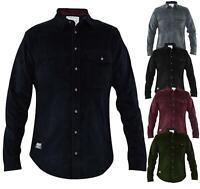Men Corduroy Shirt Long Sleeve Casual Jacket Jacksouth Cotton Shirts Top S-2XL