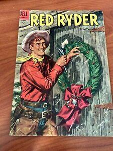 Red Ryder Comics #137 Dell Comics 1954 VG+ Christmas