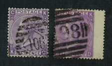 CKStamps: Great Britain Stamps Collection Scott#51 Victoria Used P#8