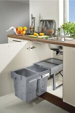 Kitchen Under Sink EASYWASTE Pull out Bin 2 x 16 L / 400 mm Cabinet - 503.74.504