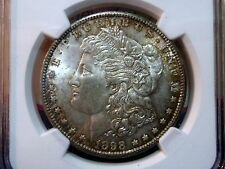 1898 O Morgan Silver Dollar NGC Certified MS64+ Choice Brilliant Uncirculated