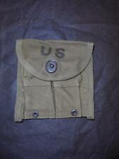 1950s US Army Military M1 Carbine Pocket Ammunition Magazine Belt Pouch