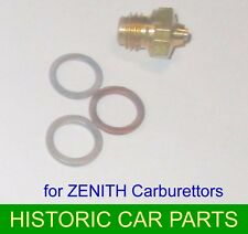 Fuel NEEDLE VALVE KIT for 26VME ZENITH Carburettor on AUSTIN A35 948 VAN 1956-61
