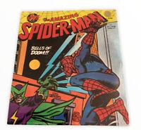 SPIDERMAN THE BELLS OF DOOM MINI LP STORY RECORD New Sealed 1970s Retro Vtg