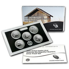 2015 America the Beautiful Quarters Silver Proof Set - SKU #94664
