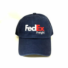 FedEx Freight Dad Hat Cotton Ball Cap Strap Adjustable Navy One Size Fits Most