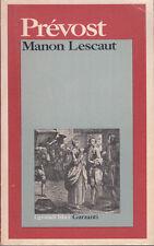 PRÉVOST MANON LESCAUT LIBRO GARZANTI