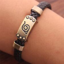 Naruto Uchiha Sasuke Wristband Mangekyou Sharingan Vintage Bronze Bracelet