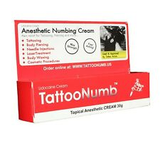 3 x 30g TATTOO NUMB Numbing Cream Body Piercings Waxing Laser Skin Treatments Dr