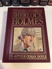 The Original Illustrated Sherlock Holmes - Sir Arthur Conan Doyle, leather-bound