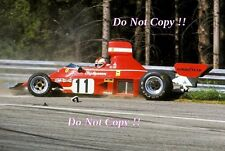 Clay Regazzoni Ferrari 312 B3 Austrian GRAND PRIX 1974 Photo