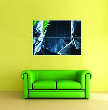 Batman Arkham Asylum Joker New Giant Wall Art Print Picture Poster